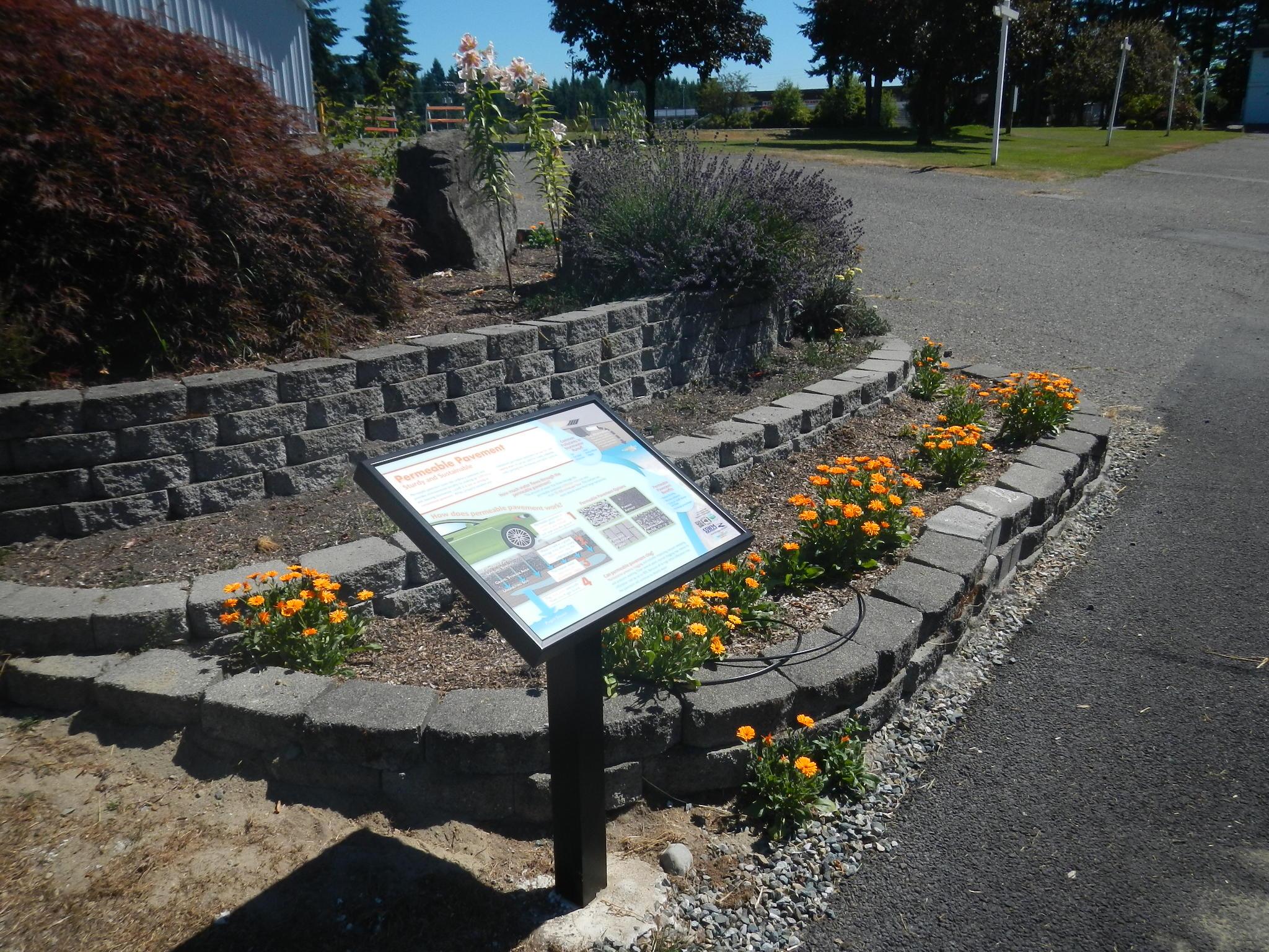 Fairgrounds Porous Pavement
