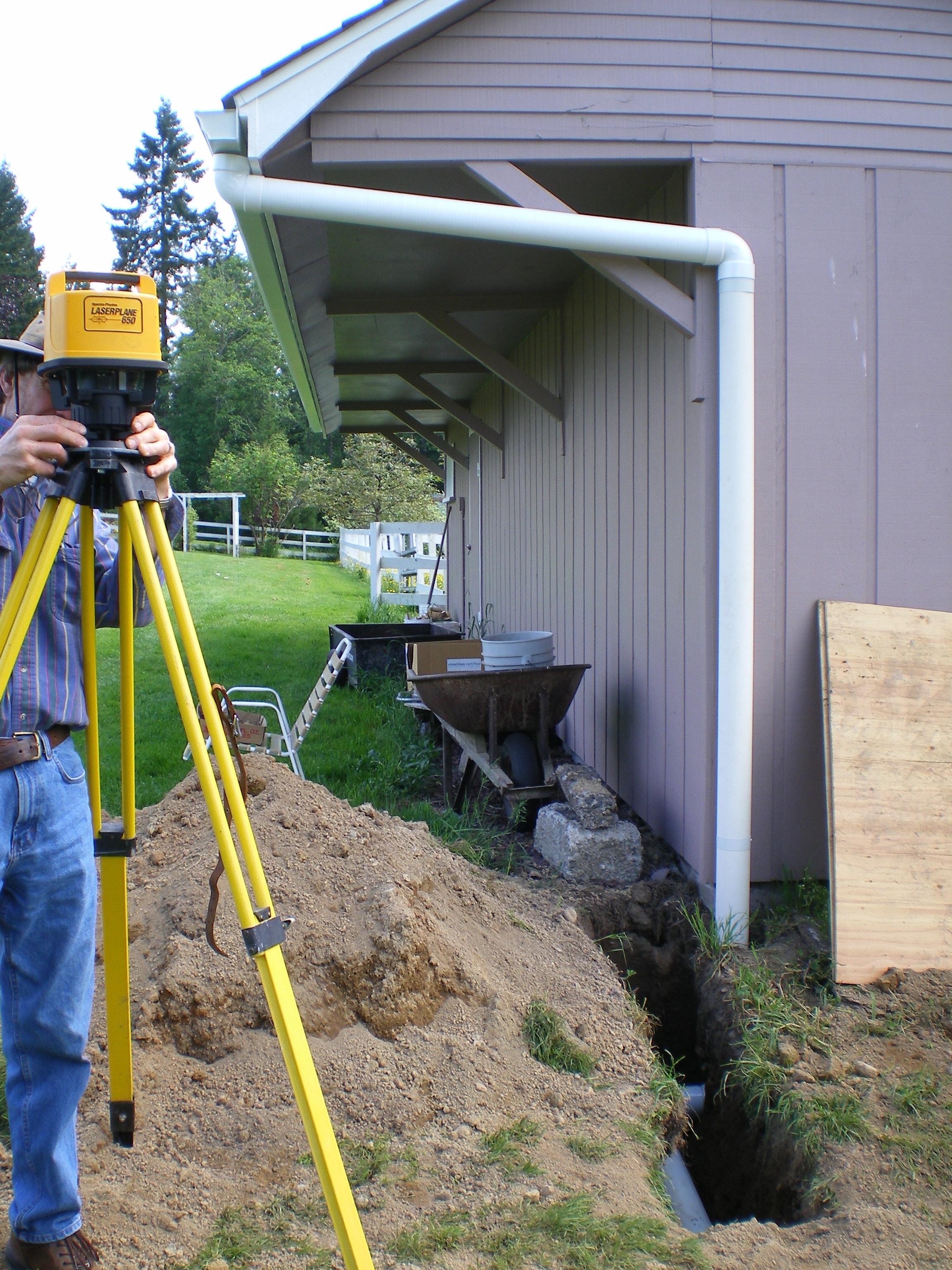 Installing Underground Outlet