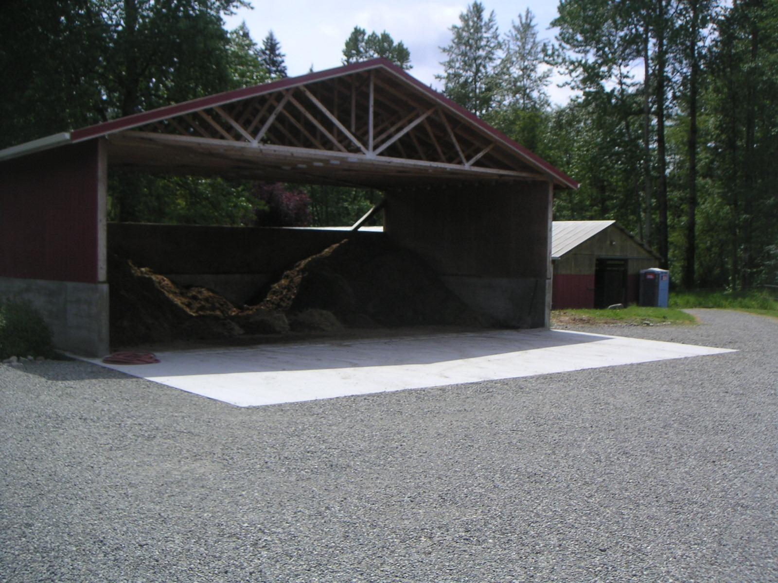 Large Waste Storage Structure