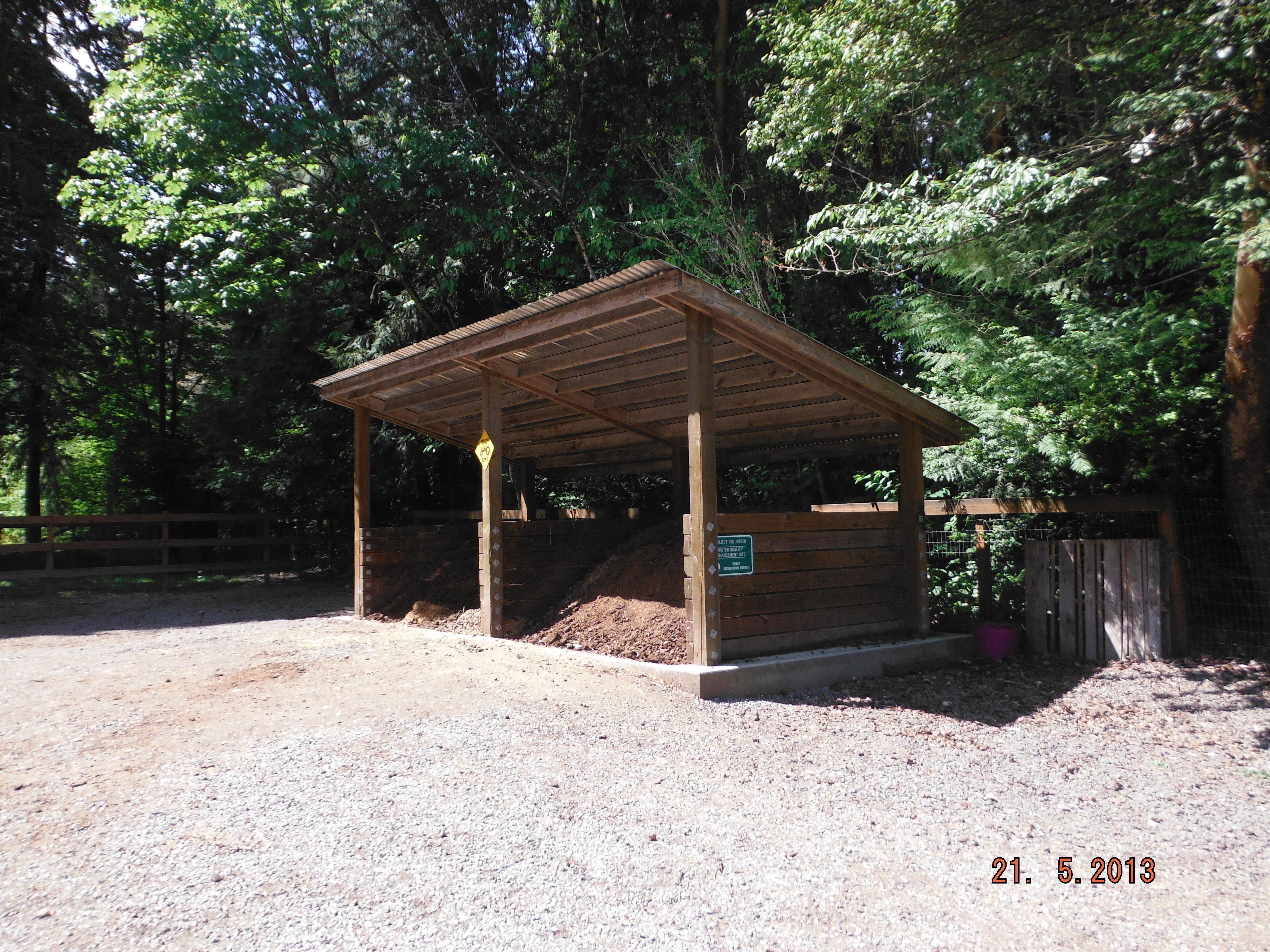 Medium Waste Storage Structure