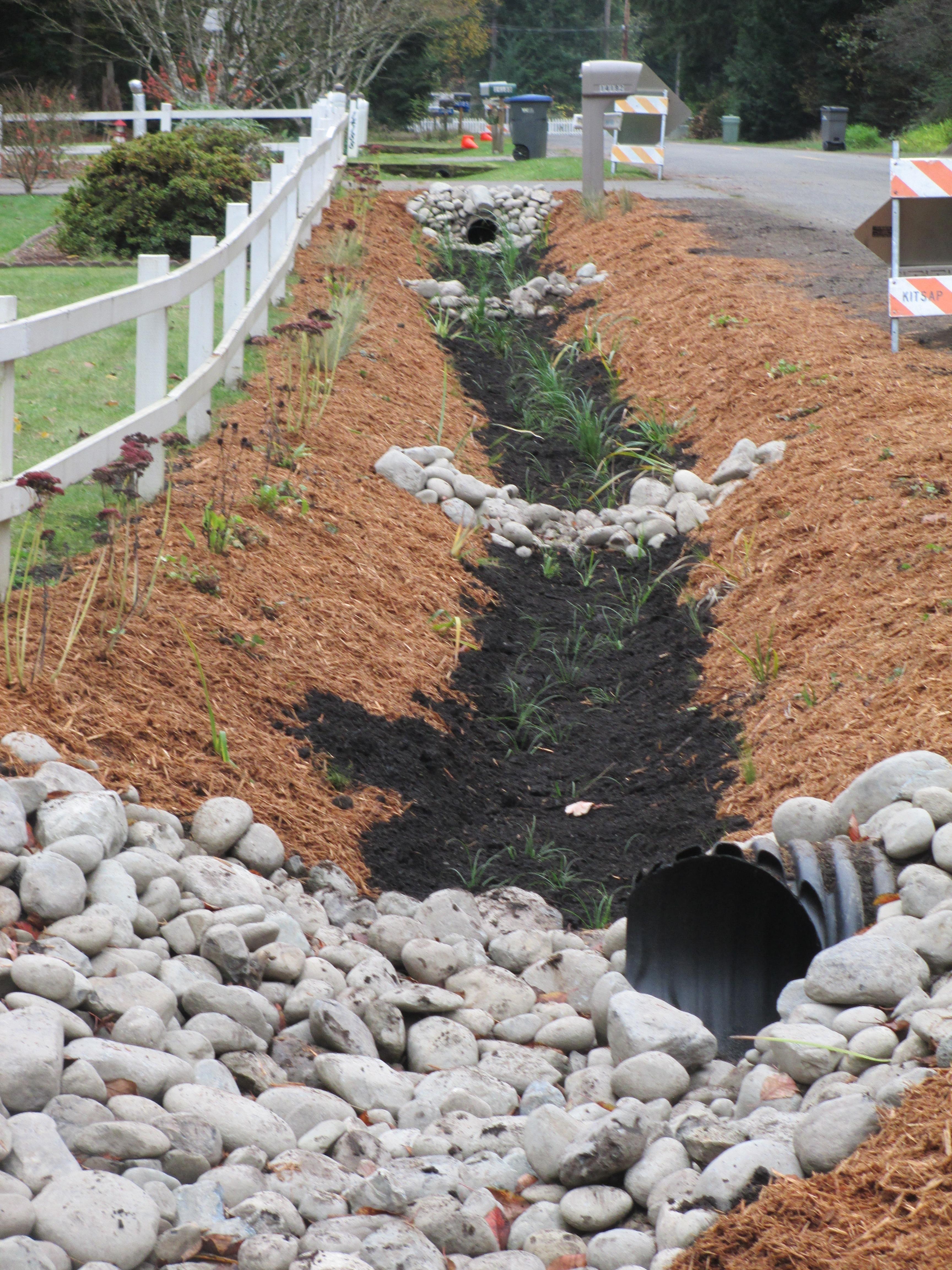 Shadow Glen Green Street Bioretention Swale Kitsap